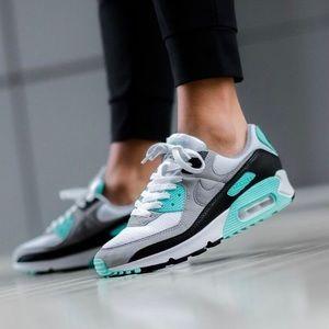 Nike Air Max 90 LTR Turquoise - Women 6.5/Kid 5